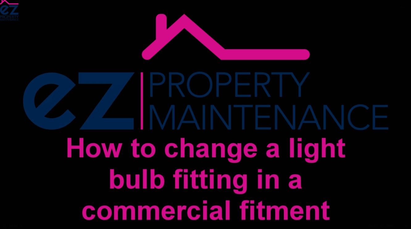 How to change a kitchen light